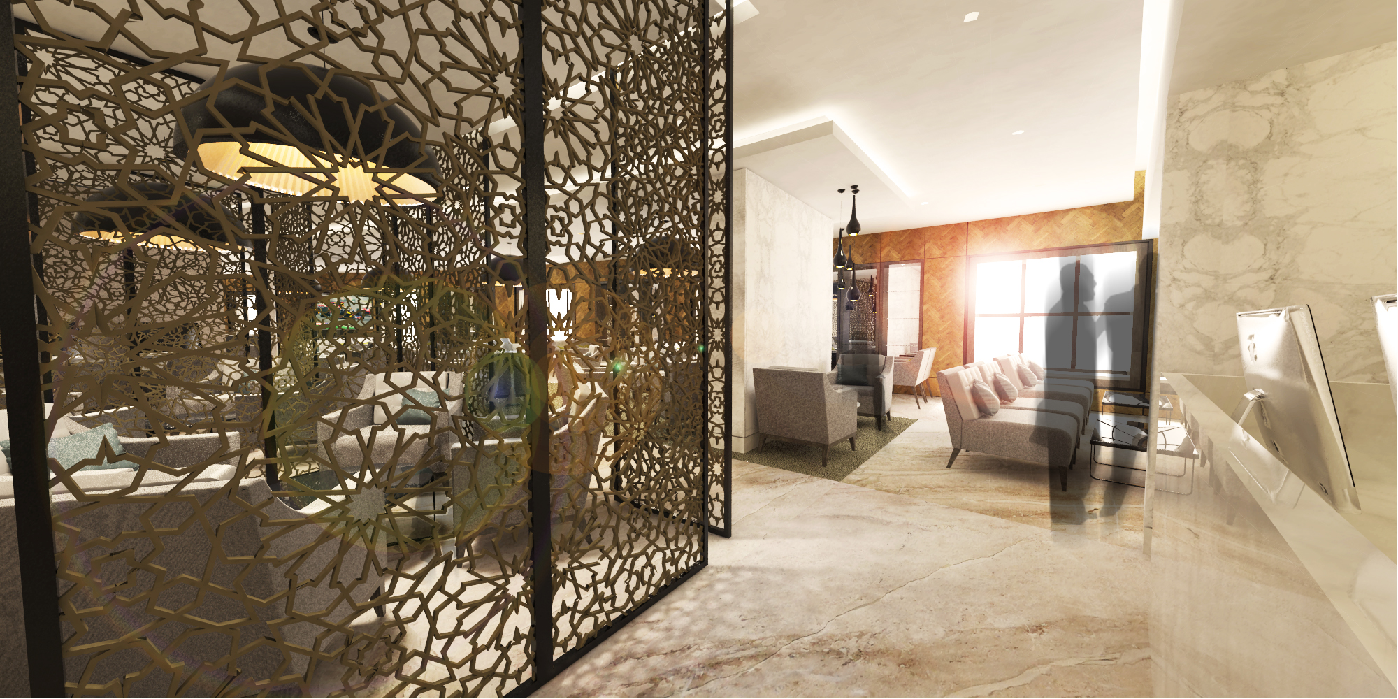 Hilton Executive Lounge Entry
