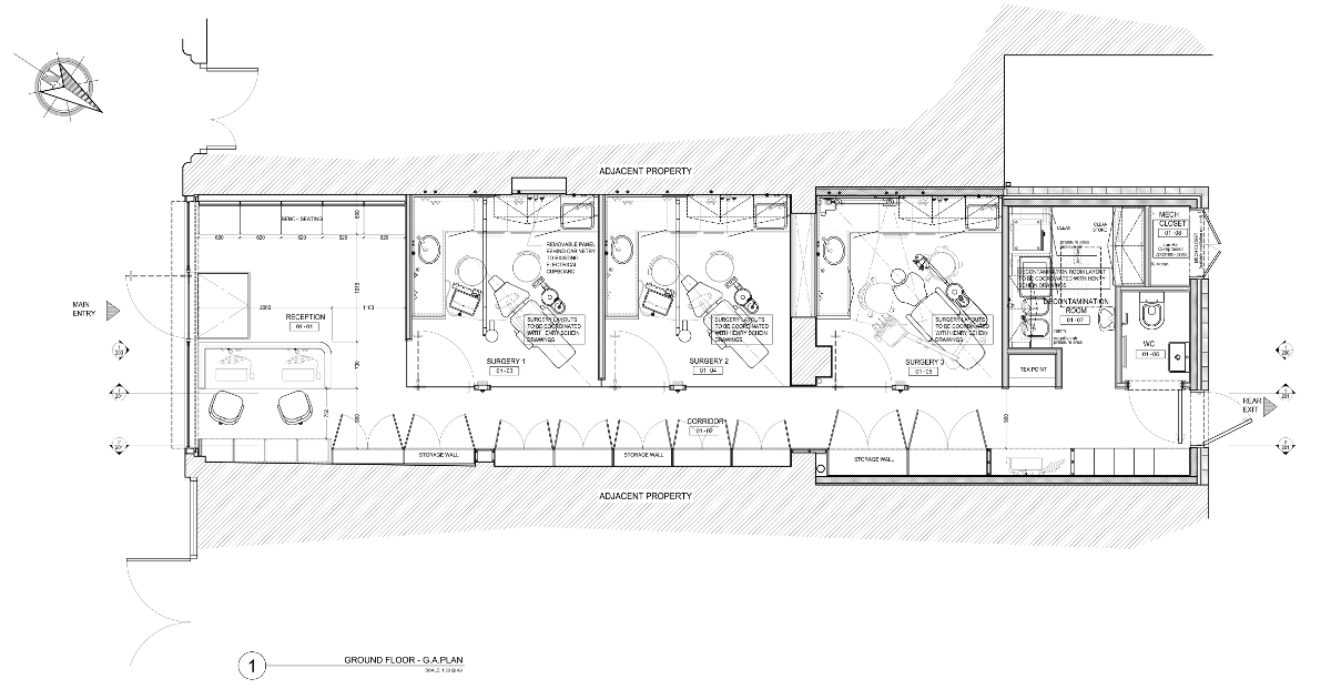 HB Dental Floor Plan