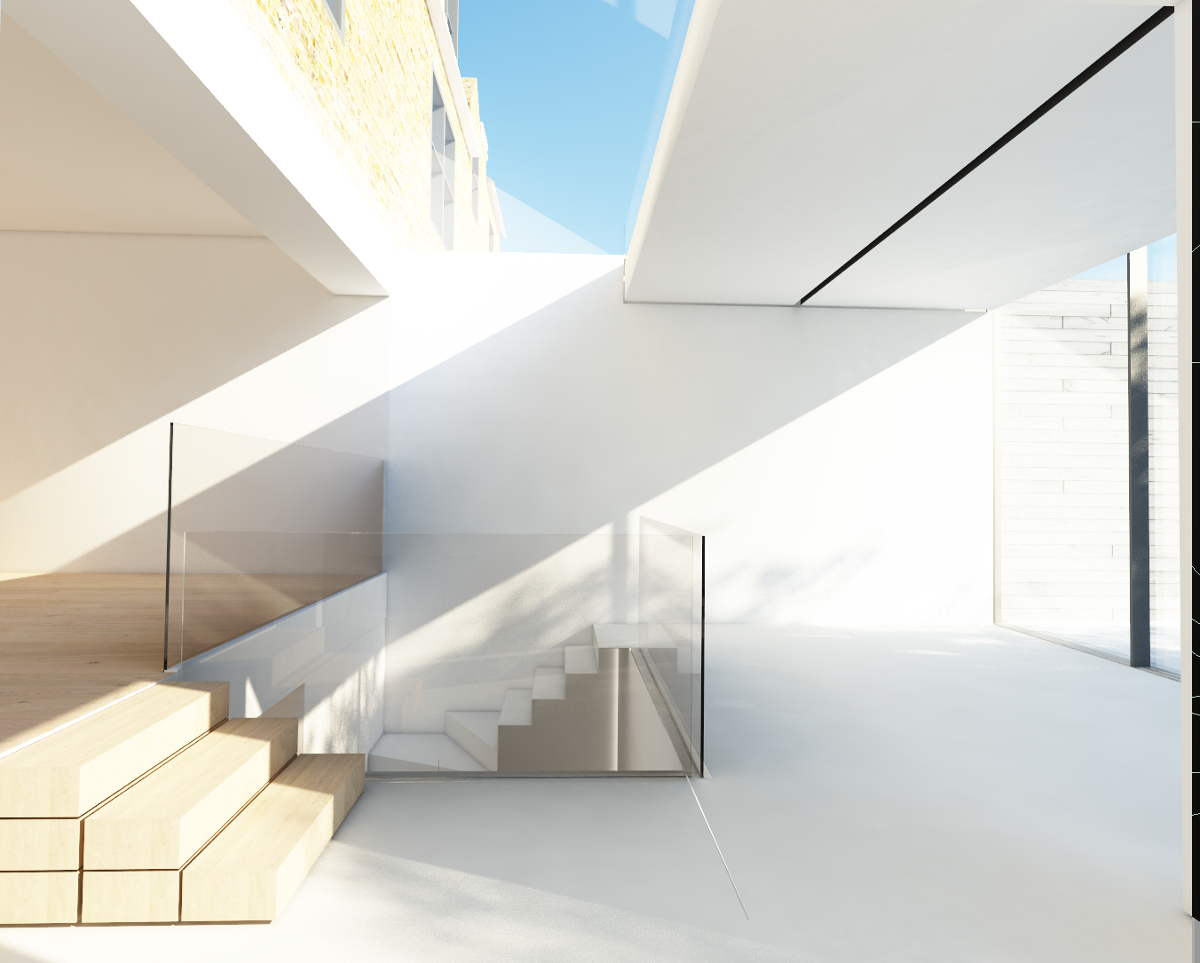 Templar Extension Interior View