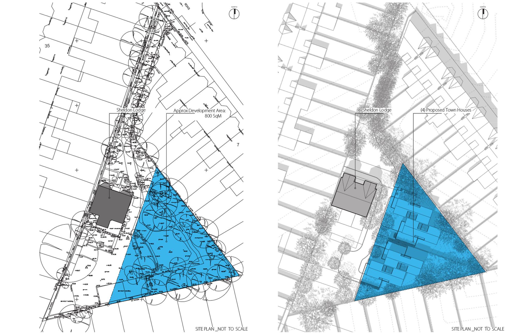 Sheldon Lodge Development Site Maps
