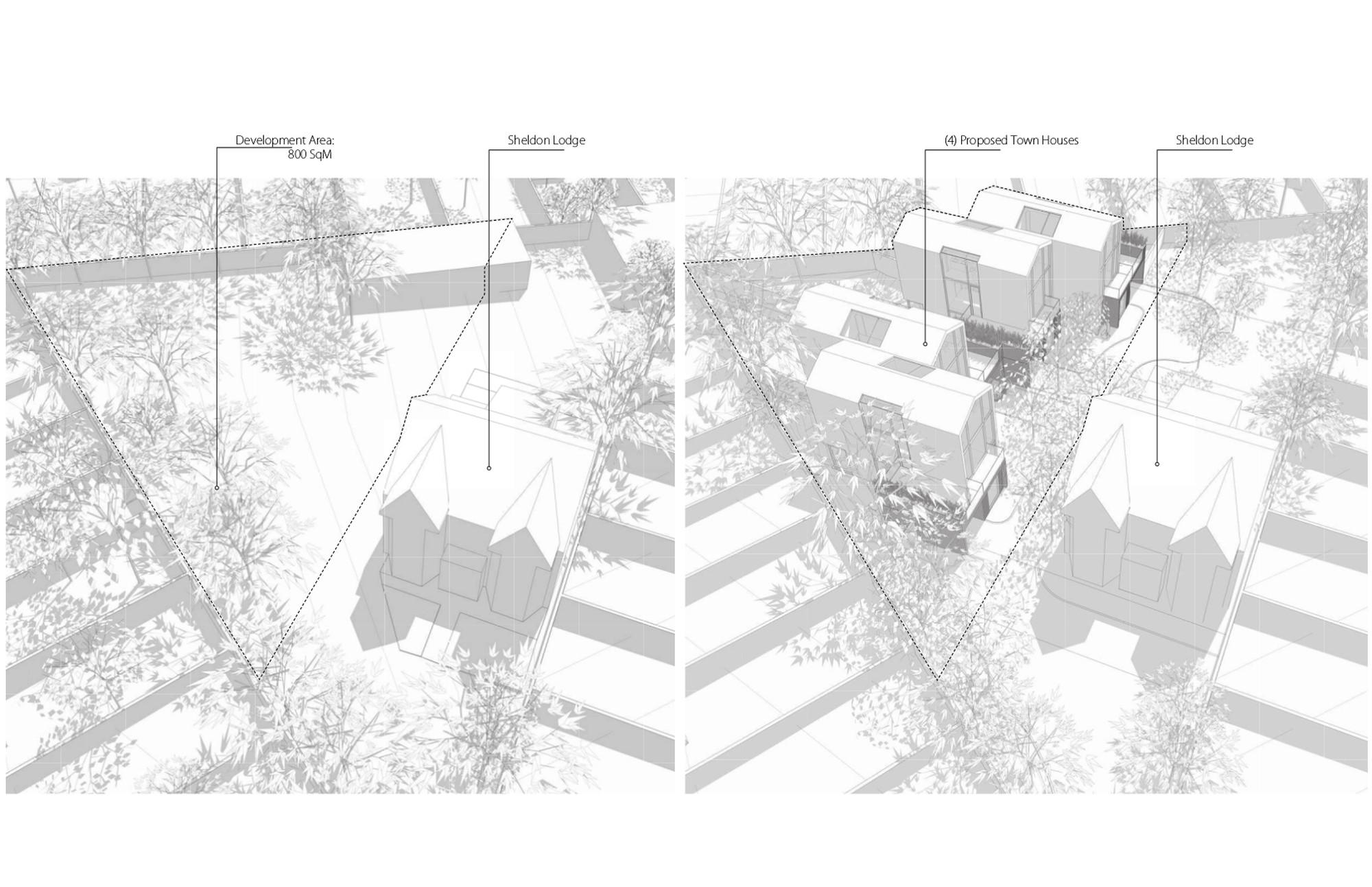Sheldon Lodge Development Area Site Axo