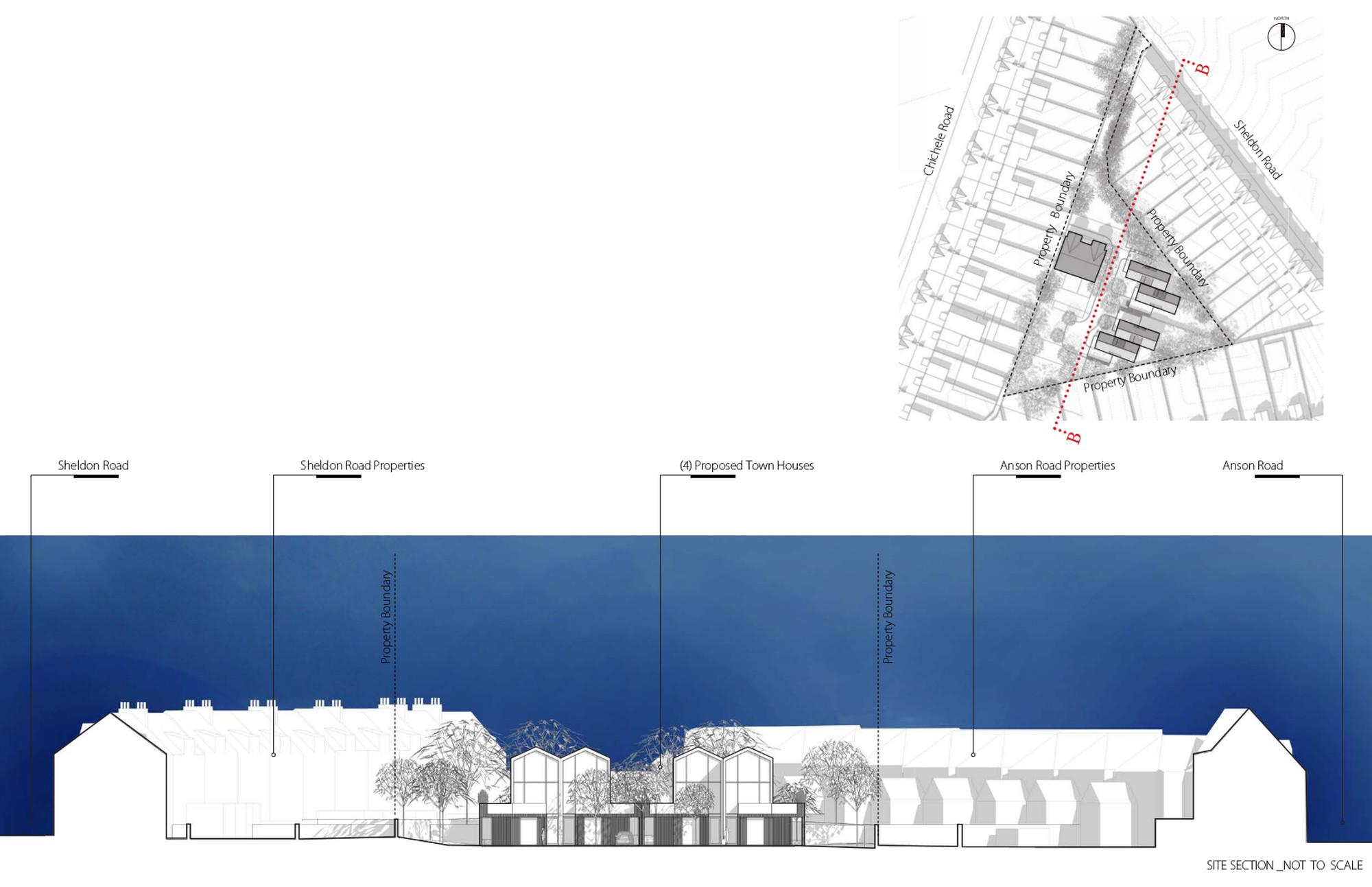 Sheldon Lodge Development Site Section
