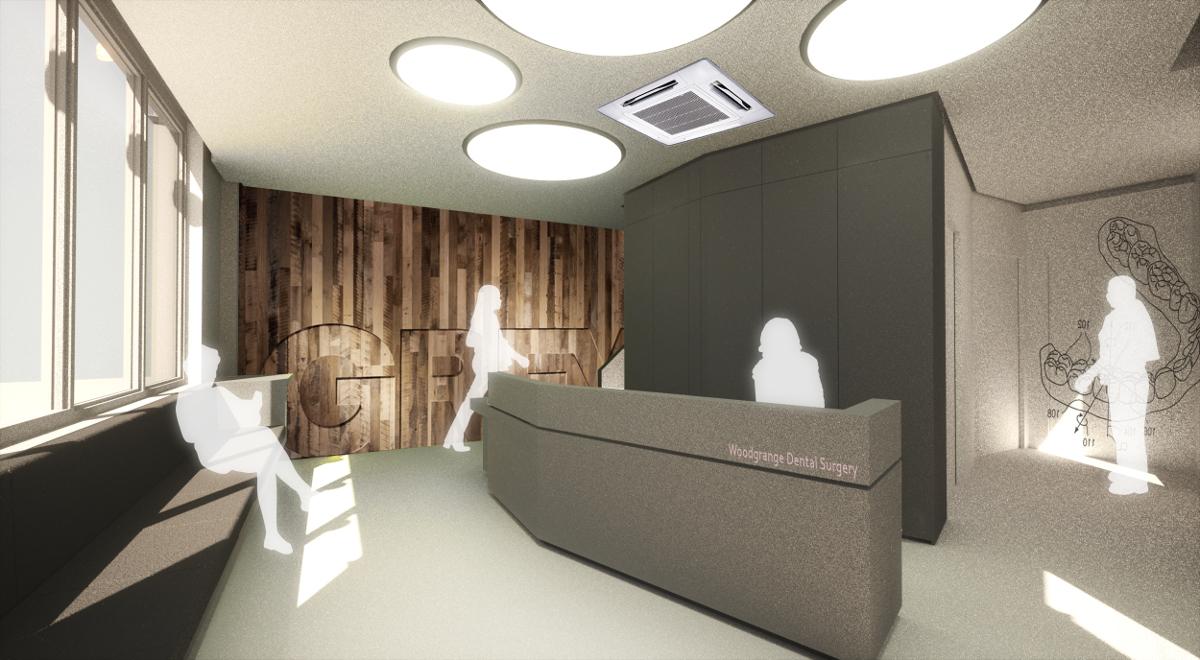 Woodgrange Dental Reception