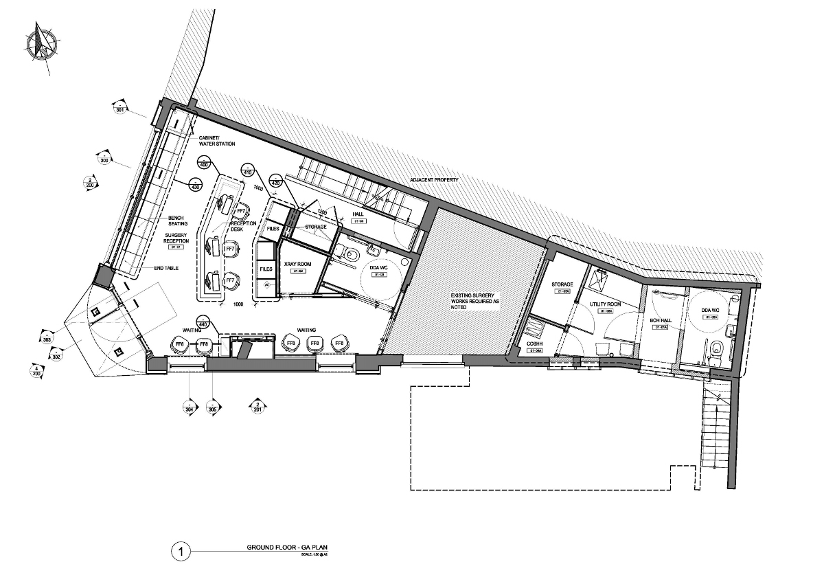 Woodgrange Dental Floor Plan