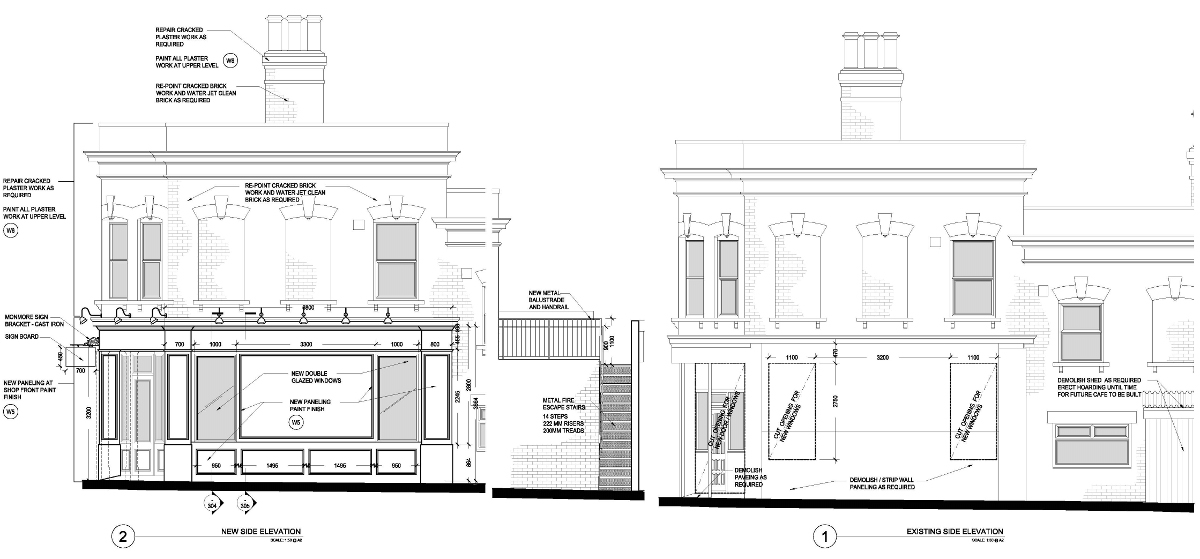 Woodgrange Dental Elevations