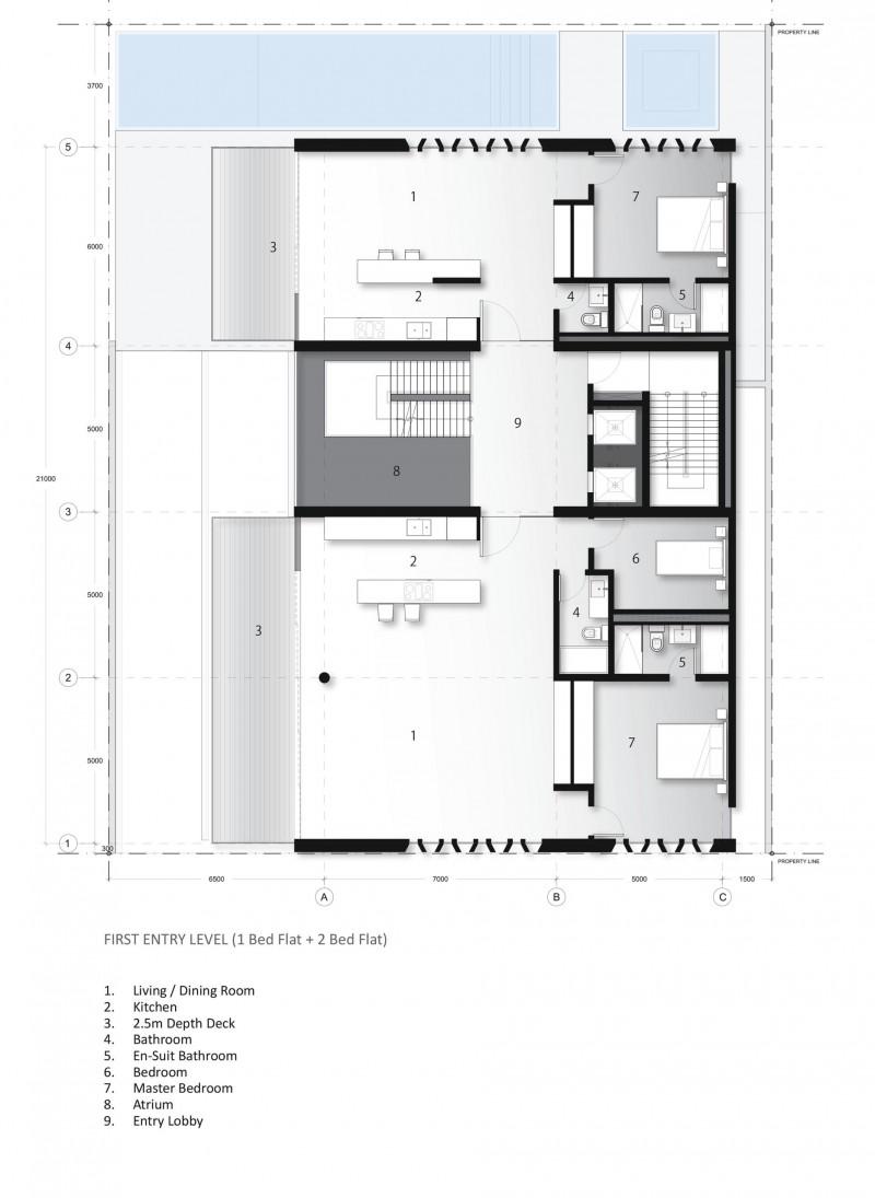 The Ridge Development First Floor