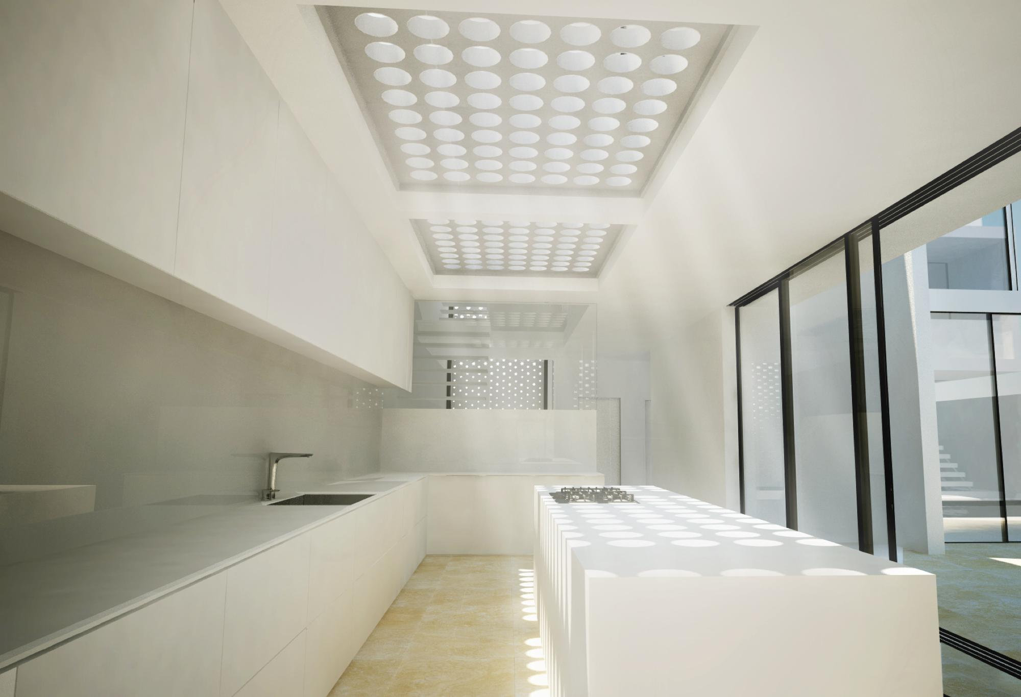 Jeddah Townhouses Kitchen Skylight