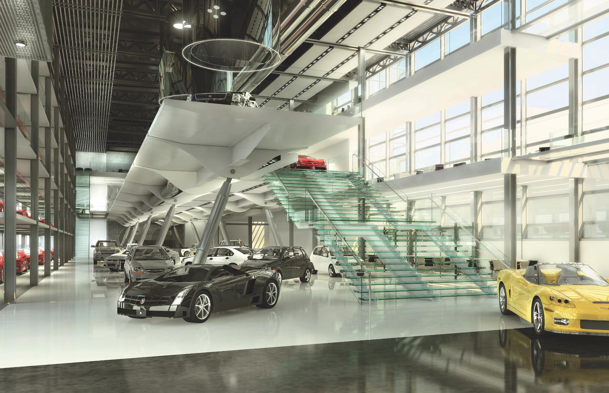 Chevrolet Automotive Showroom