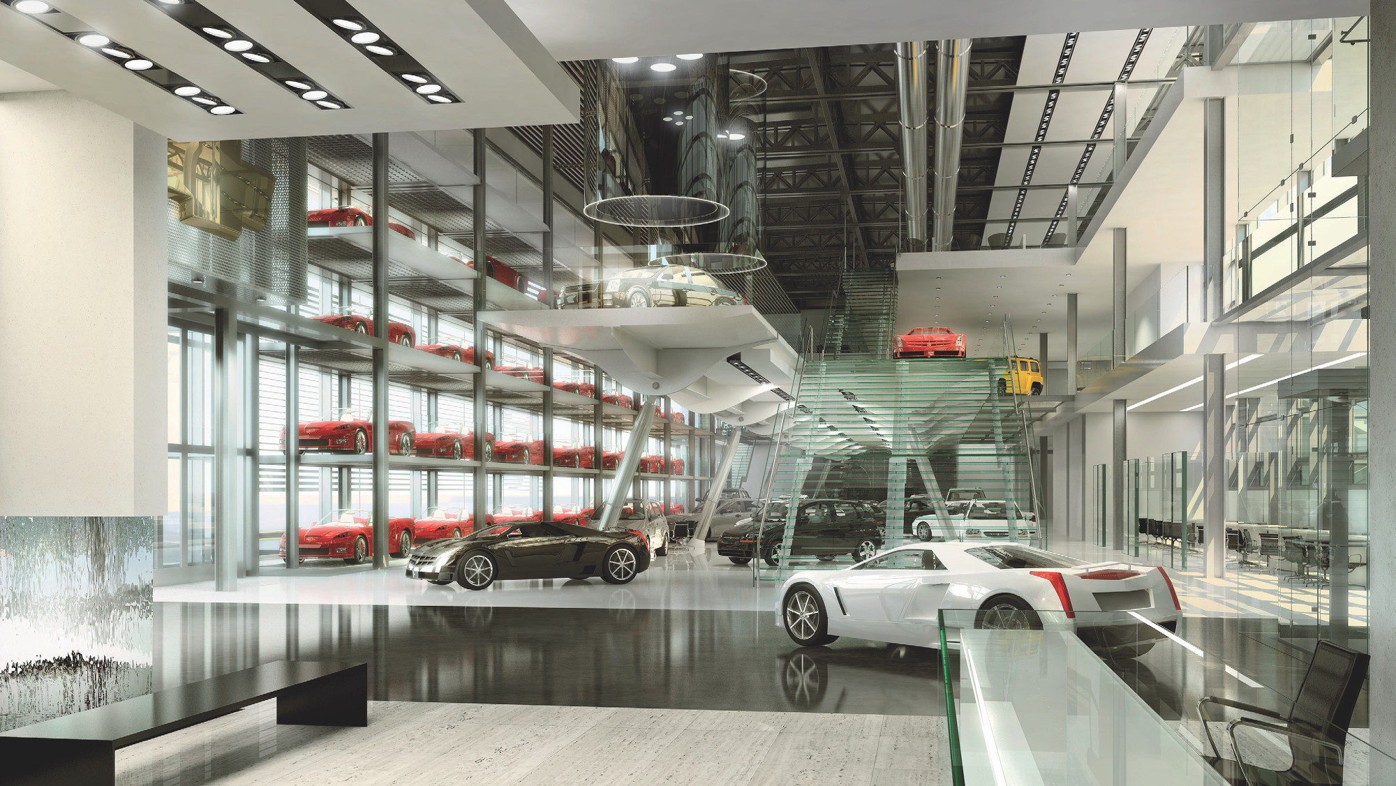 Chevrolet Automotive Showroom
