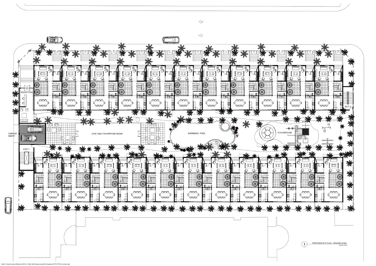 Zahid Compound Ground Plan