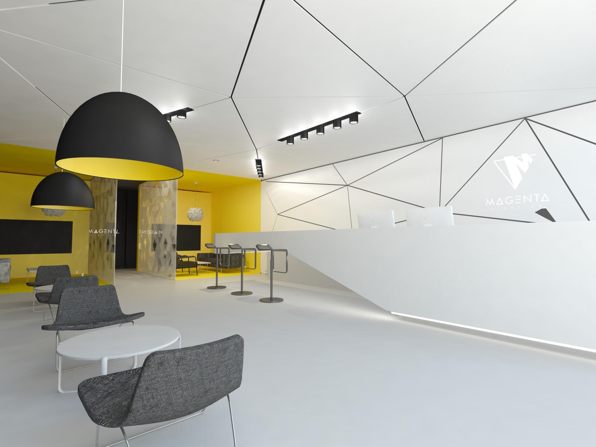 Magenta Lighting Showroom