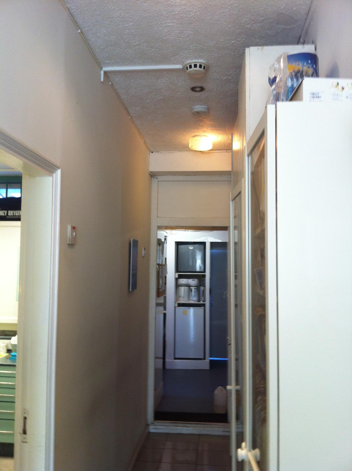 HB Dental Hallway Before