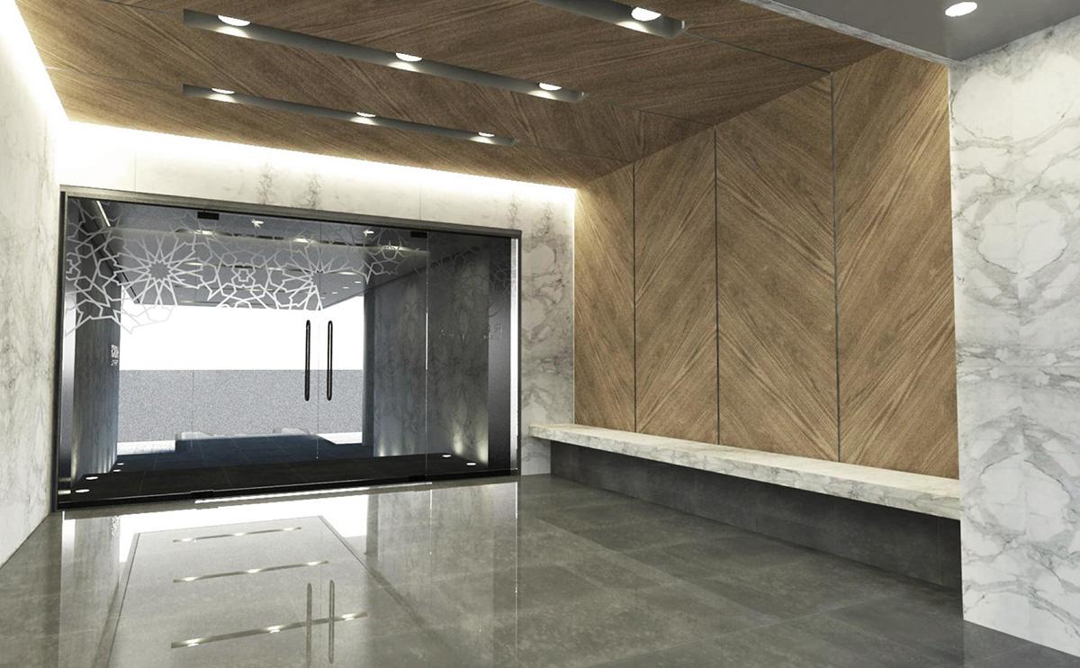 Rowdah Apartment Lobby
